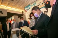 Inauguración del Centro de Recepción de Turistas de Munera