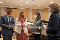 El consejero de Agricultura, Agua y Desarrollo Rural, Francisco Martínez Arroyo, se reúne con el Comité de Dirección de la Consejería.