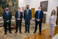 Reunión con el secretario de Estado para la Unión Europea