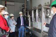 El consejero de Agricultura, Agua y Desarrollo Rural, Francisco Martínez Arroyo, visita las nuevas inversiones realizadas en la Biorrefinería de I+D CLAMBER.
