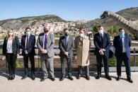 Firma de convenio de colaboración para levantar un complejo deportivo en Cuenca