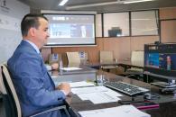 El consejero de Agricultura, Agua y Desarrollo Rural, Francisco Martínez Arroyo, interviene en el evento digital nacional INVESTAGUA '¿Por qué invertir en agua?'