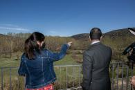Visita a la residencia de mayores de Cañete