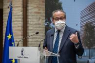 Presentación del proyecto de la Ciudad Administrativa de Ciudad Real (Hacienda y Administraciones Públicas)