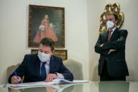Firma de convenio de colaboración con la Federación Española de Espirituosos