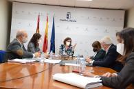 El Gobierno de Castilla-La Mancha y la FEMP abordan el diseño de la próxima convocatoria del plan de empleo