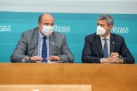 Reunión con el presidente de la Diputación de Toledo