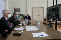 El consejero de Hacienda participa en la Conferencia Sectorial del Plan de Recuperación y Resilencia
