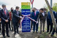 El presidente de Castilla-La Mancha, Emiliano García-Page, inaugura el refuerzo de firme de la CM-4005 en el tramo que discurre de Ciruelos a Huerta de Valdecarábanos