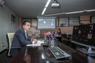 El consejero de Agricultura, Agua y Desarrollo Rural, Francisco Martínez Arroyo, inaugura el seminario web sobre la reforma de la PAC y el sector del vino, organizado por la Asamblea de Regiones Europeas Vitícolas (AREV).