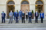 Firma de convenio y Proyecto de Singular Interés en la Diputación de Cuenca  (Desarrollo Sostenible)