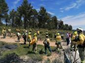 El Gobierno de Castilla-La Mancha destaca la importancia del trabajo conjunto de todos los integrantes del dispositivo del Plan Infocam en la lucha contra los incendios forestales