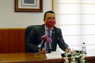 El consejero de Agricultura, Agua y Desarrollo Rural asiste a la firma de la Federación de Asociaciones para el Desarrollo Territorial del Tajo-Tajuña con varios ayuntamientos de Guadalajara