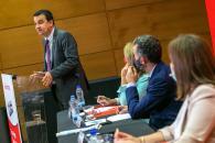 El consejero de Agricultura, Agua y Desarrollo Rural, Francisco Martínez Arroyo, participa en el foro organizado por Agro Santander y La Tribuna con la ponencia 'Los desafíos de la agricultura de Castilla-La Mancha'