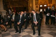 Asiste a la misa de Corpus Christi que se celebra en la Catedral Primada de Toledo