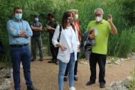 La consejera de Igualdad y portavoz del Gobierno regional, Blanca Fernández, ha visitado el Centro de Recuperación de Fauna Silvestre 'El Chaparrillo' en Ciudad Real.