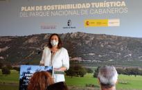 La consejera de Economía, Empresas y Empleo, Patricia Franco, participa en la presentación del Plan de Sostenibilidad de Cabañeros
