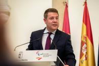 El presidente de Castilla-La Mancha asiste a la presentación de los deportistas castellanomanchegos del equipo paralímpico para Tokio 2020