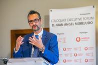 El director general de Administración Digital, Juan Ángel Morejudo, participa, en un coloquio online sobre la estrategia digital de la Administración regional.
