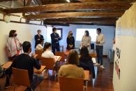 La consejera de Economía, Empresas y Empleo clausura el Espacio Coworking de Sigüenza