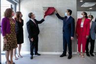Inauguración del atrio del pabellón ferial de Ciudad Real
