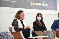 La consejera de Economía, Empresas y Empleo, Patricia Franco, participa en la jornada 'La logística del futuro: tendencias y necesidades' que organizan la plataforma Women in Real Estate y Montepino.