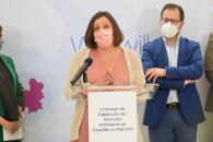La consejera de Economía, Empresas y Empleo, Patricia Franco, preside la constitución y la primera reunión del Consejo de Captación de Inversión Extranjera de Castilla-La Mancha.