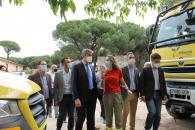 El Gobierno regional invierte 155.000 euros para mejorar la base-retén de Almorox en su refuerzo de las infraestructuras de lucha contra incendios forestales del Plan Infocam