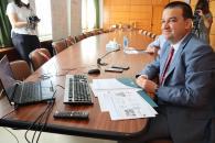 El consejero de Agricultura, Agua y Desarrollo Rural y presidente de la Fundación Dieta Mediterránea se reúne de manera virtual con el Patronato de la Fundación