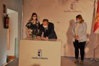 El Gobierno regional y Telefónica suscriben un convenio para fortalecer la innovación empresarial en la región a través del emprendimiento tecnológico