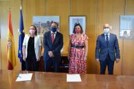 El Gobierno de Castilla-La Mancha y la EOI firman un acuerdo marco para impulsar a las pymes de la región en el marco de los fondos 'Next Generation'
