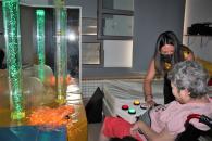 La consejera de Bienestar Social, Bárbara García Torijano, visita las obras que se realizan en las viviendas del Centro de Atención a Personas con Discapacidad 'Guadiana I' de Ciudad Real