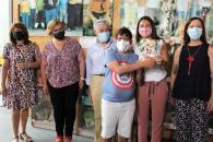 La consejera de Bienestar Social visita el Centro de Día y el Centro Ocupacional 'Frida Kahlo'