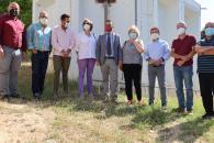El consejero de Agricultura, Agua y Desarrollo Rural visita las obras que garantizan el abastecimiento humano en los meses de verano en el municipio ribereño de Chillarón del Rey