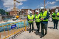 Visita a las obras del Complejo Hospitalario Universitario de Albacete