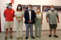 La consejera de Igualdad y portavoz del Gobierno de Castilla-La Mancha asiste a la inauguración de la exposición 'Peatón, no atravieses tu vida'