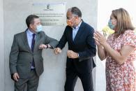 El presidente de Castilla-La Mancha, Emiliano García-Page, inaugura la primera fase del IESO Luisa Sigea y visita las obras de la segunda fase de este centro de Tarancón