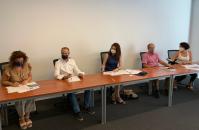 Reunión de la Viceconsejería de Empleo y colectivo APRA