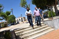 El vicepresidente de Castilla-La Mancha visita el Ayuntamiento de El Bonillo