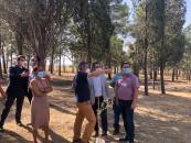 El Gobierno regional concluye el acondicionamiento y limpieza de montes públicos del entorno de la A-42 tras los daños causados por Filomena destinando 400.000 euros