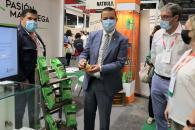 El consejero de Agricultura, Agua y Desarrollo Rural, Francisco Martínez Arroyo, asiste a la segunda edición de la Feria Ibérica Profesional
