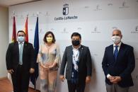 El Gobierno de Castilla-La Mancha explora líneas de colaboración  económico-comercial, cultural y de cooperación para el desarrollo con El Salvador