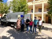 Visita proyectos eficiencia energética y residuos en Balazote