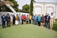 La consejera de Economía, Empresas y Empleo, Patricia Franco, ha asistido al acto de entrega de reconocimientos a las personas que han tomado parte en las acciones de Formación Profesional para el Empleo de la Fundación 'Cadisla', de Tomelloso