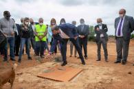 Primera piedra del nuevo Centro de Salud de Campillo de Altobuey