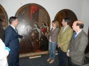 Carmen Casero visita la localidad de Pastrana-2