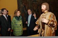 Cospedal inaugura las exposiciones 'La moda española en el siglo de oro' y 'La España de los Austrias'-5