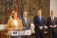 Presidenta Cospedal preside firma convenio Centenario Quijote_3
