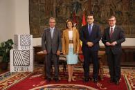 Presidenta Cospedal preside firma convenio Centenario Quijote_4