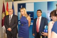 Reunión de la consejera de Fomento con la Junta Central de Regantes de La Mancha Oriental